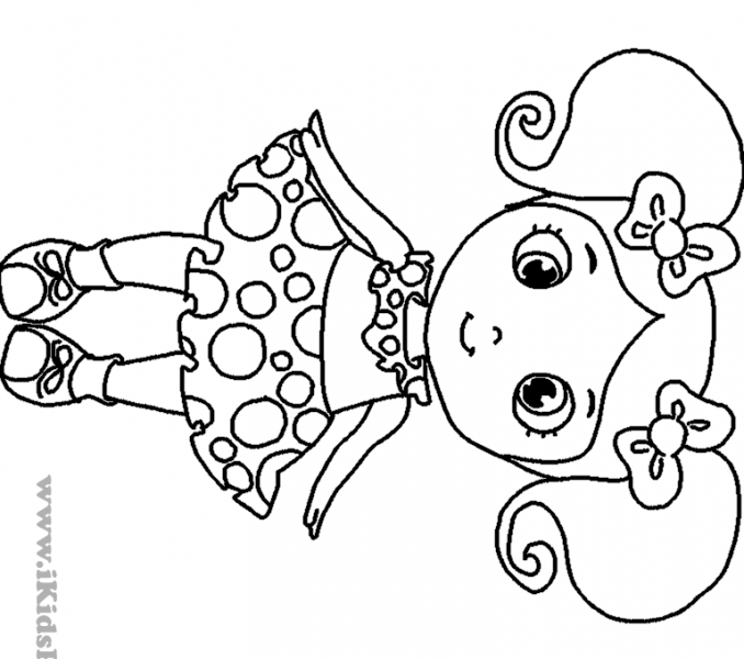 little girl coloring cute little girl coloring pages at getcoloringscom free coloring girl little