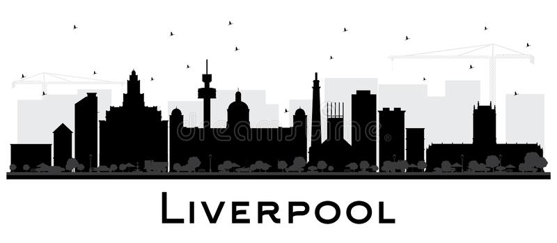 liverpool skyline silhouette quotliverpool skyline vectorquot stock image and royalty free silhouette liverpool skyline