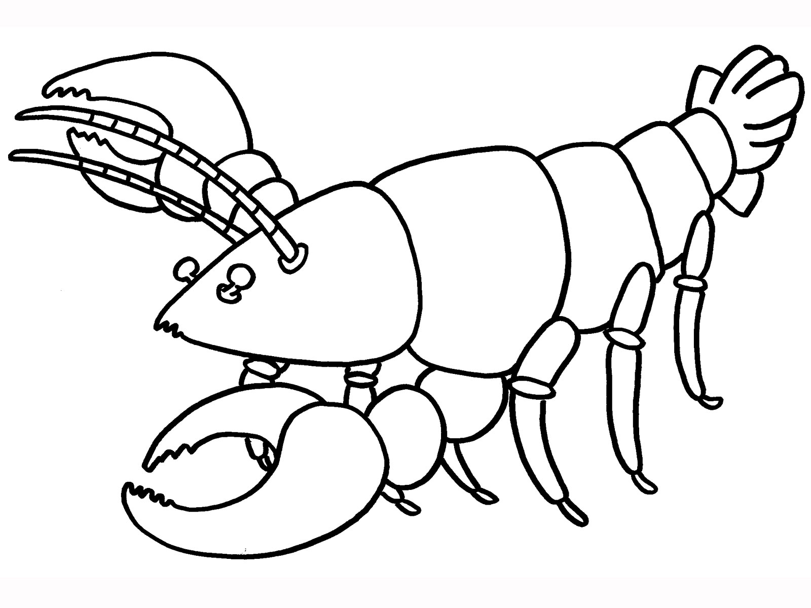 lobster coloring page clawed lobster coloring page free printable coloring pages page coloring lobster