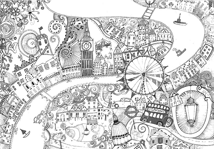 london coloring pages london england adult coloring book set of 5 coloring pages pages coloring london