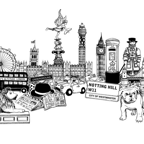 london coloring pages london sight seeing colouring page to print coloring london pages