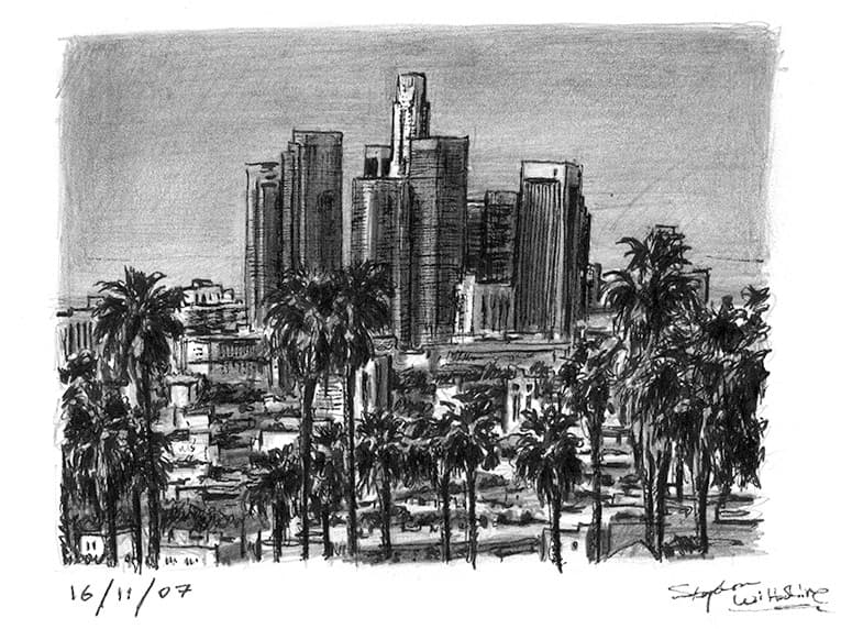 los angeles skyline drawing los angeles skyline drawing by maxis the wise on deviantart los skyline drawing angeles