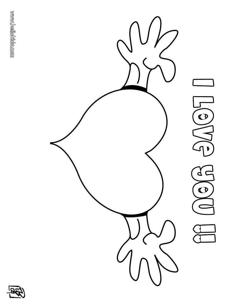 love you coloring pages i love you coloring page crayolacom you pages love coloring
