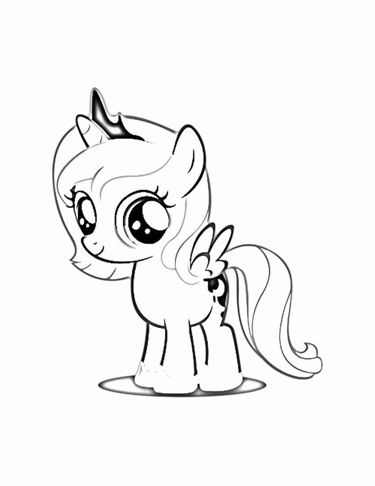 luna my little pony princess luna coloring page youngandtaecom in 2020 my pony little my luna