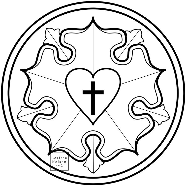 luther rose coloring page 32 luther rose coloring page in 2020 rose coloring pages page rose coloring luther