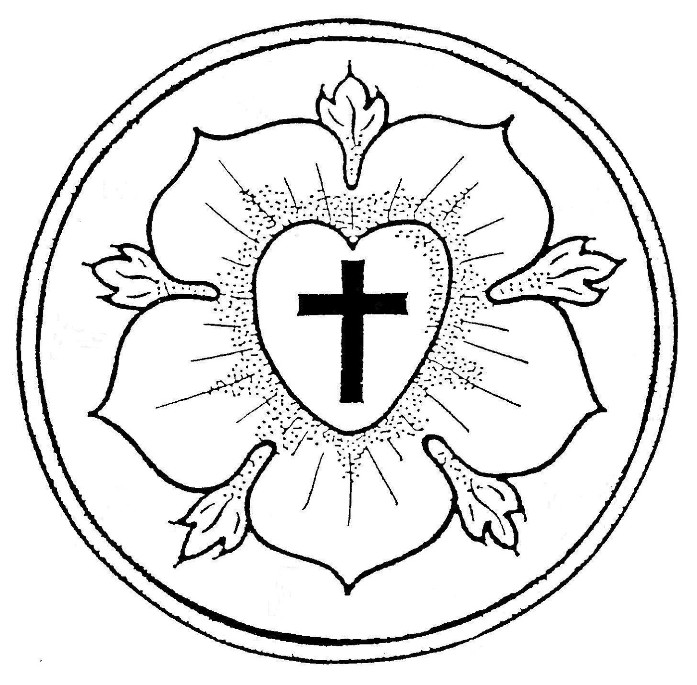 luther rose coloring page luther rose coloring page activity 101 worksheets coloring rose luther page