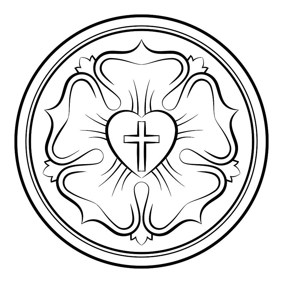 luther rose coloring page luther rose coloring page coloring pages coloring page rose luther