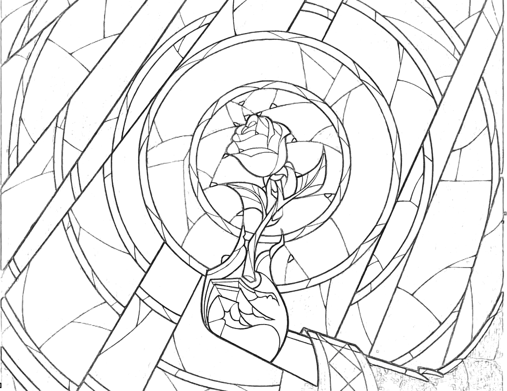 luther rose coloring page luther rose coloring page page coloring rose luther