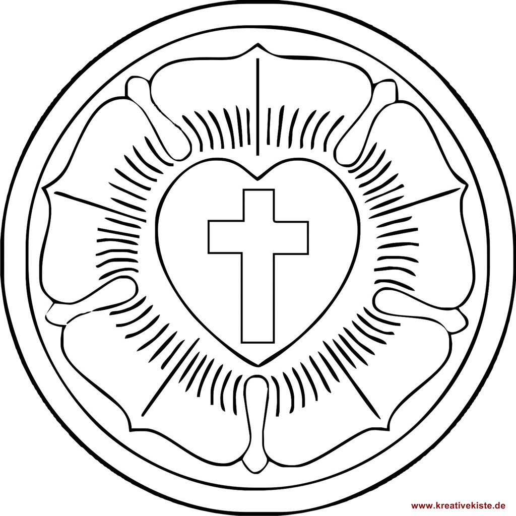 luther rose coloring page martin luther rose coloring page luther rose rose rose page luther coloring