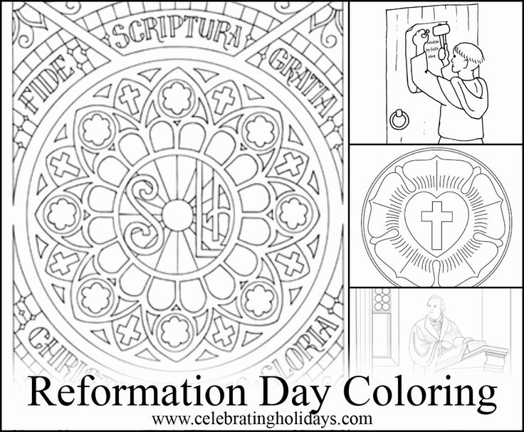 luther rose coloring page reformation art package church banners designs luther luther rose coloring page