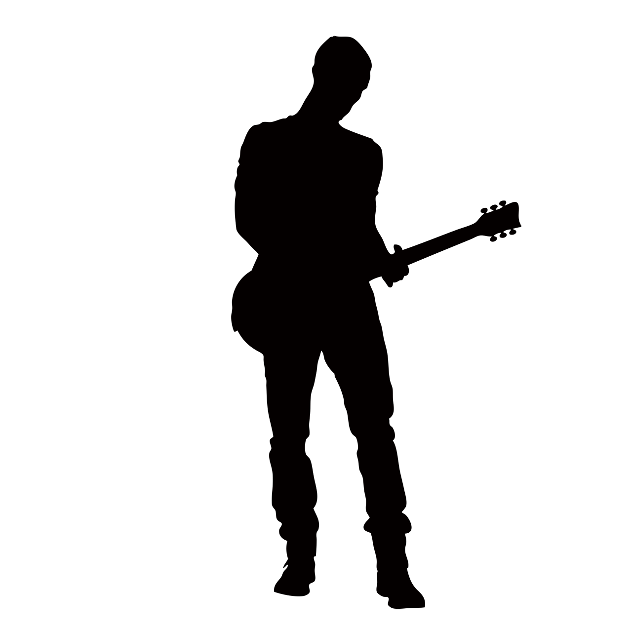 man playing guitar silhouette acoustic guitar silhouette stock footage video shutterstock guitar silhouette man playing