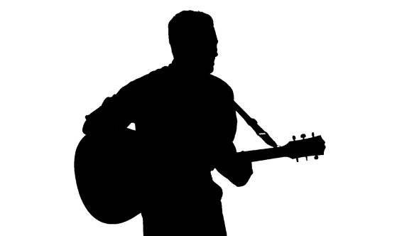 man playing guitar silhouette i feel honored to be able to be part of his world one guitar man silhouette playing