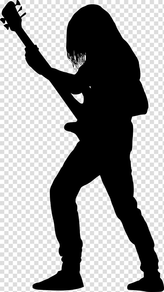 man playing guitar silhouette silhouette of a man enjoying music on white background in man playing guitar silhouette