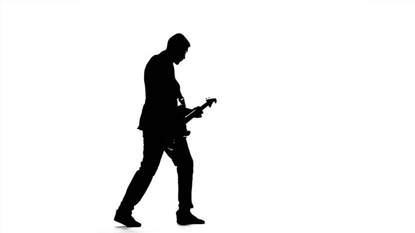 man playing guitar silhouette silhouette of a man playing guitar stock photo guitar silhouette man playing
