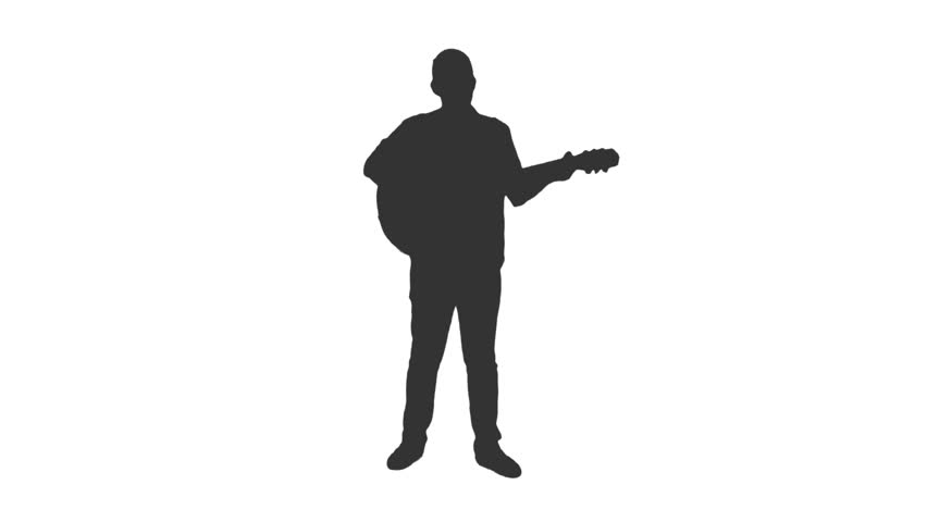 man playing guitar silhouette silhouette of guitarist playing viewer electric bass guitar silhouette playing man