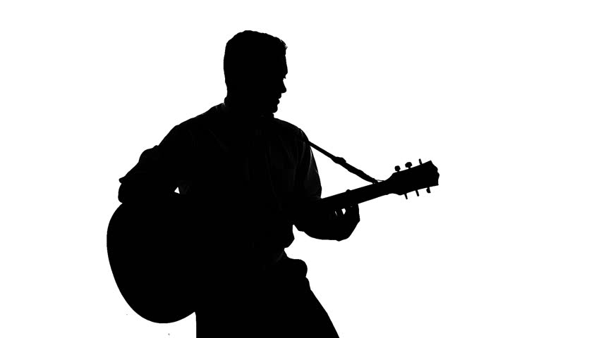 man playing guitar silhouette silhouette of guitarist playing viewer electric bass man silhouette playing guitar