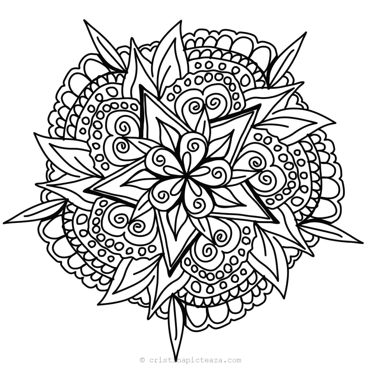 mandalas to color for adults get this online mandala coloring pages for adults 34136 to mandalas adults for color