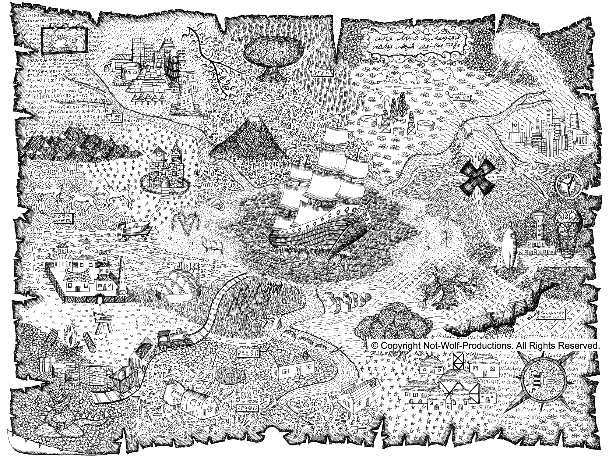 map coloring pages free pirate treasure maps for a pirate birthday party coloring pages map