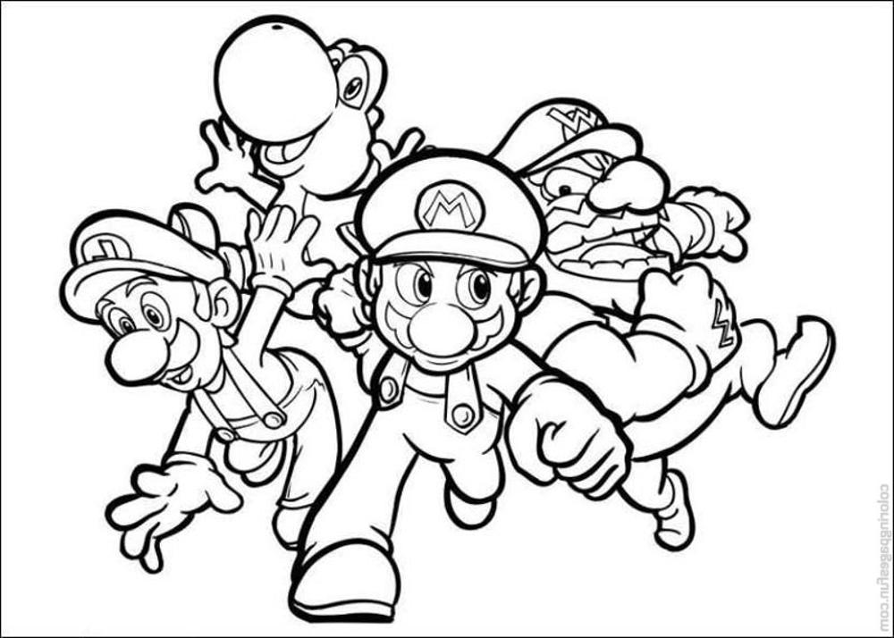mario color pages mario bros coloring pages to download and print for free color pages mario