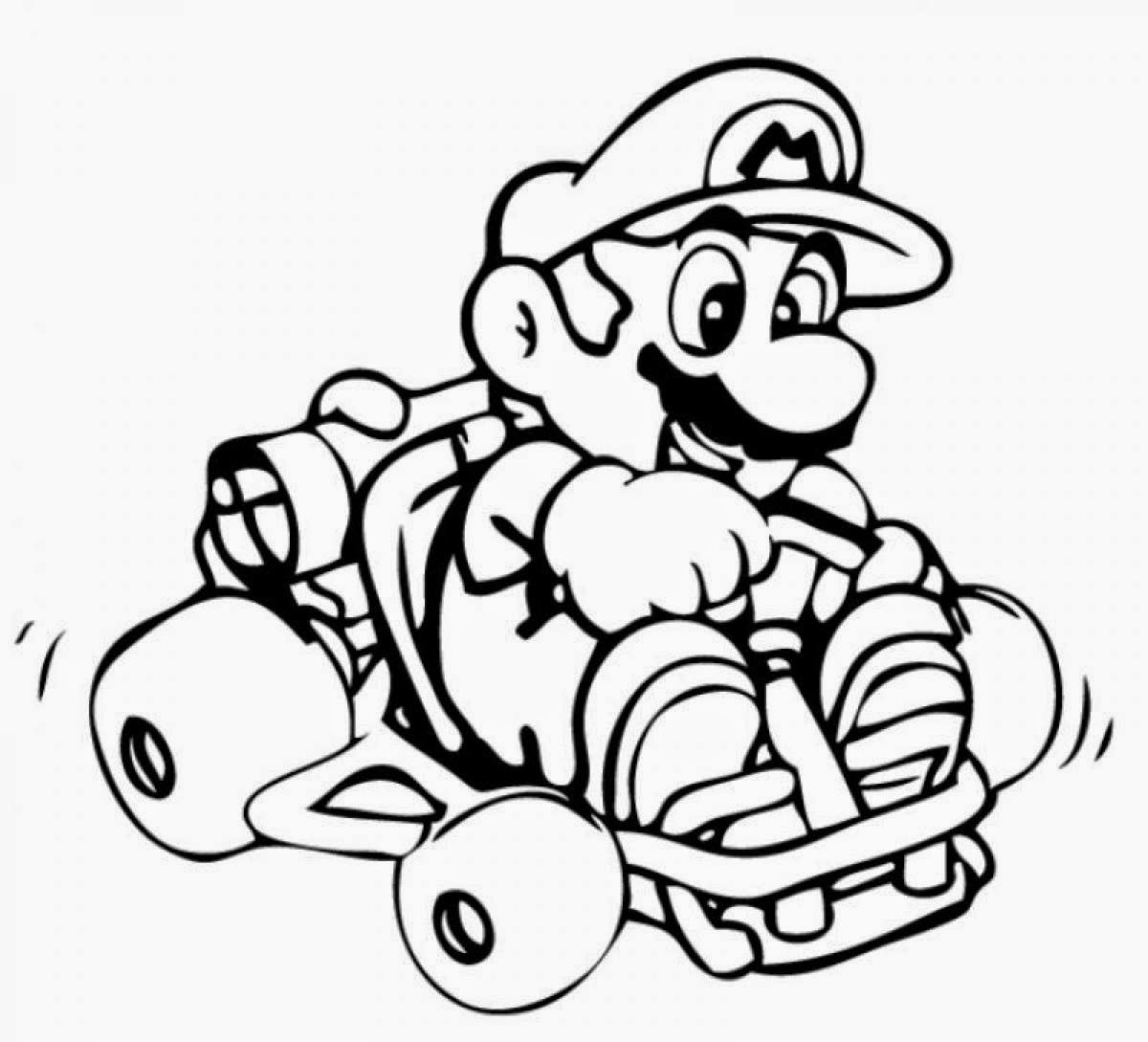 mario color pages mario coloring pages themes best apps for kids mario color pages