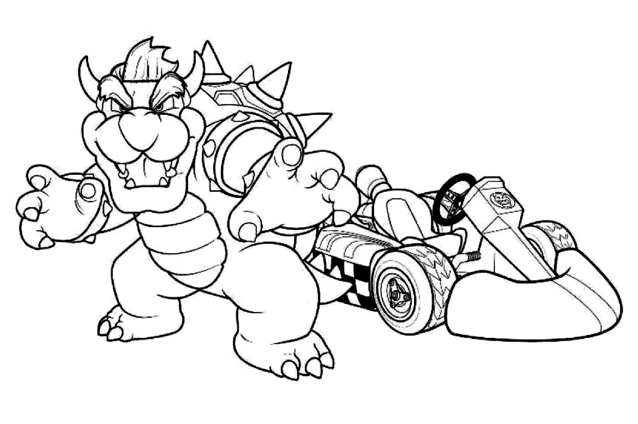 mario kart 8 coloring pages mario coloring pages coloring kart mario pages 8