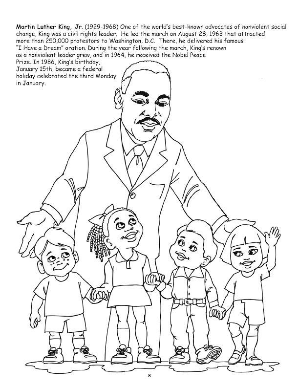 martin luther king jr coloring page free printable martin luther king jr day mlk day page jr coloring king martin luther