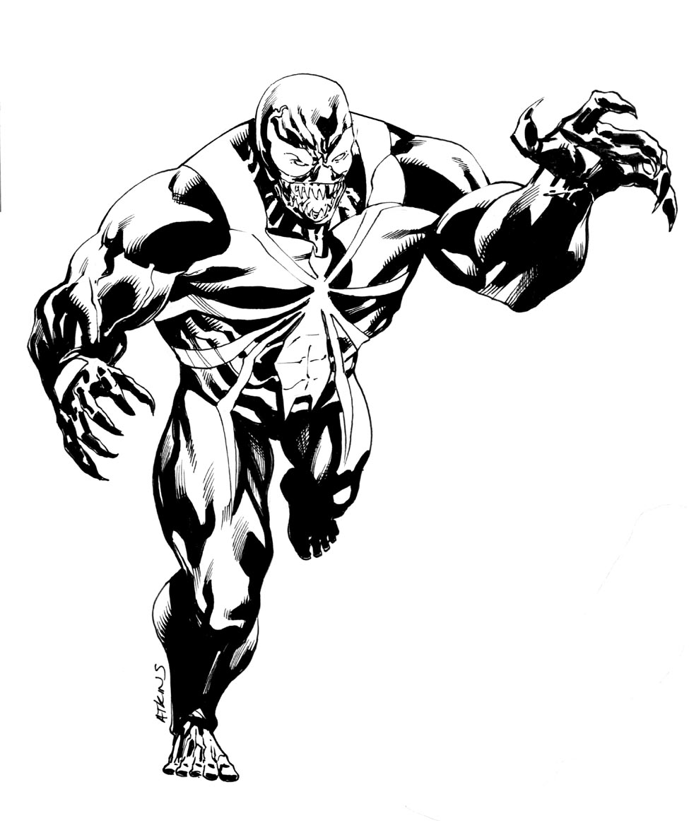 marvel venom coloring pages venom coloring pages free download on clipartmag pages coloring marvel venom