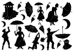 mary poppins outline chimney sweep silhouette at getdrawings free download mary outline poppins