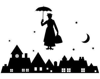 mary poppins outline clipart mary poppins umbrella clipart best mary poppins outline mary