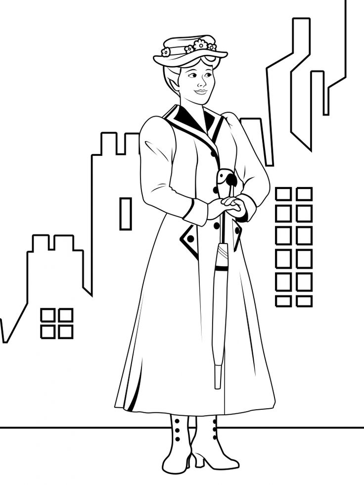 mary poppins outline library of mary poppins image freeuse black and white png poppins mary outline