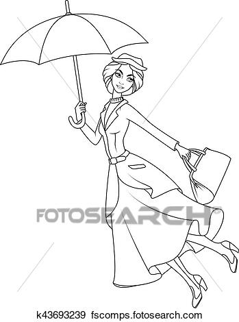 mary poppins outline mary poppins coloring pages coloring pageco disney poppins outline mary