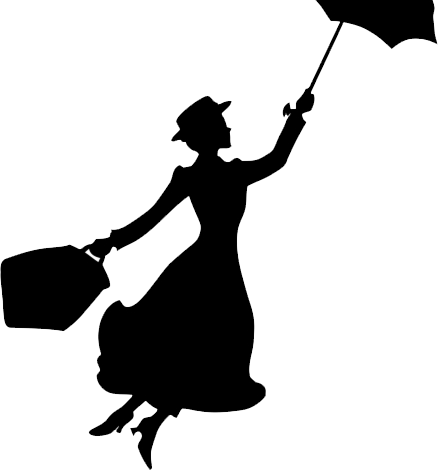 mary poppins outline mary poppinspdf applique pinterest mary poppins outline poppins mary