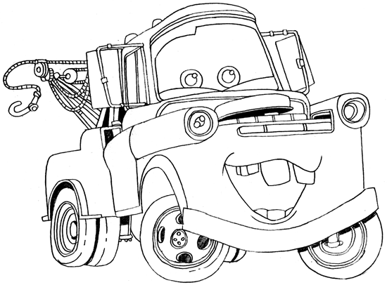 mater coloring page how to draw tow mater coloring pages color luna coloring page mater