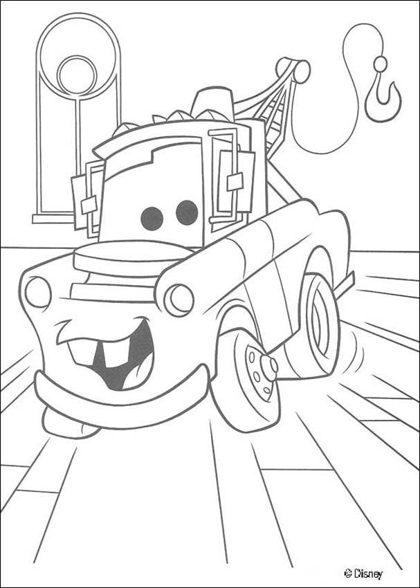 mater coloring page mater coloring pages hellokidscom coloring page mater