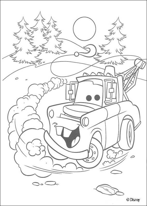 mater coloring page mater from cars coloring pages free printable mater from mater page coloring