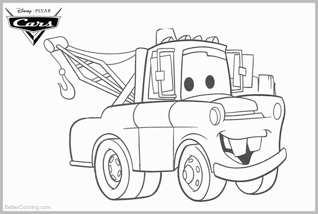 mater coloring page tow mater drifting coloring pages tow mater drifting page coloring mater