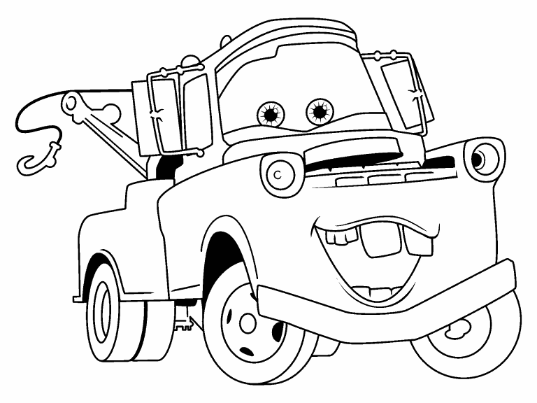 mater coloring page tow mater on spotlight coloring pages color luna mater page coloring