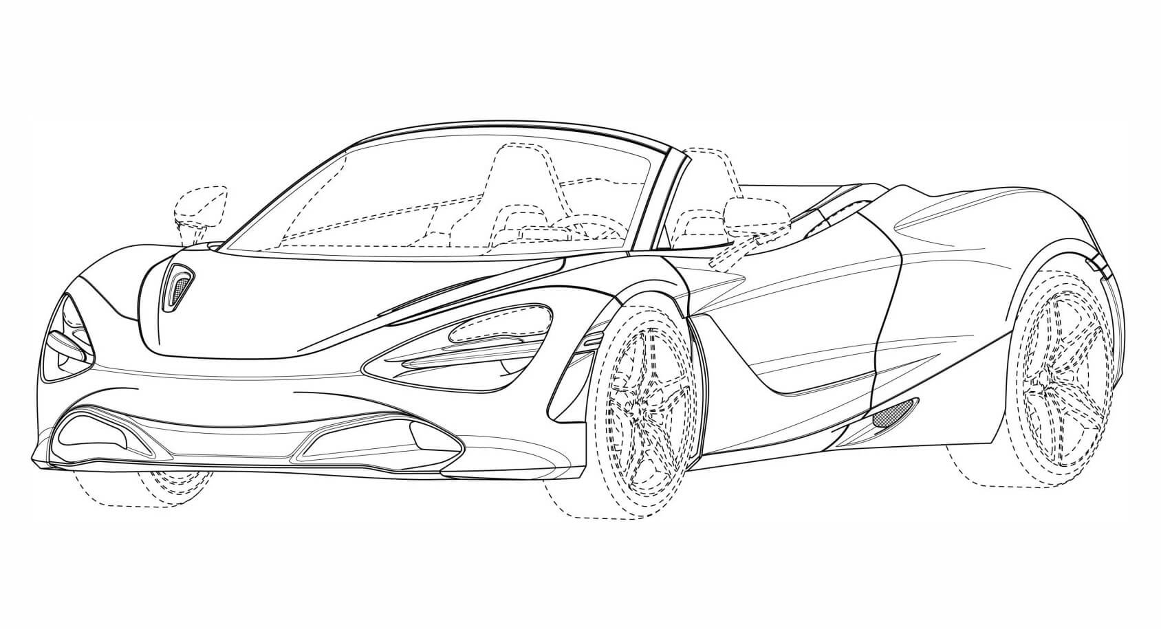 mclaren 720s coloring pages how to draw a mclaren 720s car drawings cartoon car coloring mclaren 720s pages