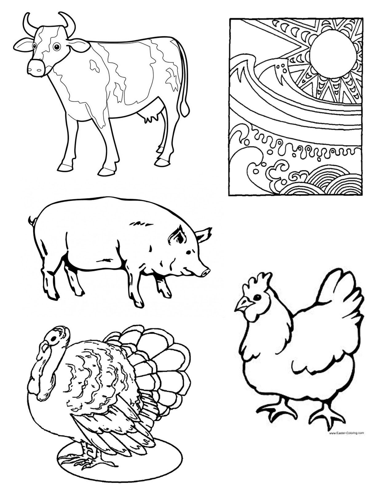 meat coloring pages meat coloring page educationcom pages meat coloring