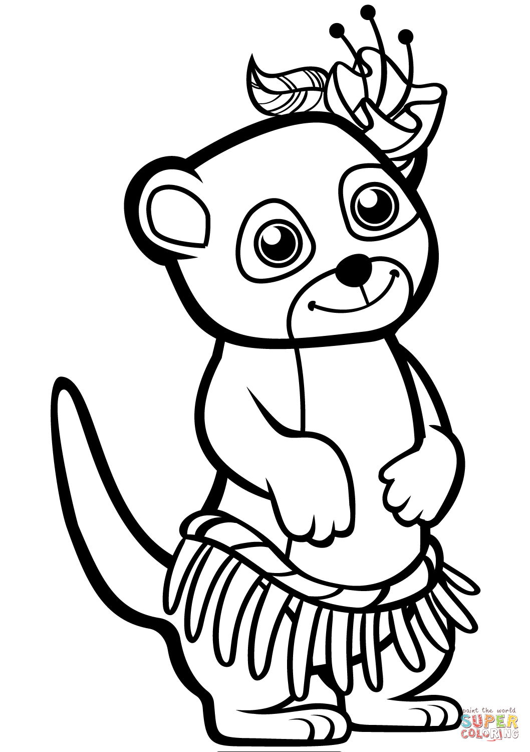 meerkat colouring pages funny meerkat coloring page free printable coloring pages colouring meerkat pages
