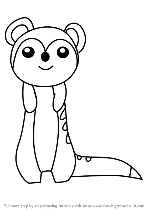 meerkat colouring pages learn how to draw a meerkat for kids animals for kids pages meerkat colouring