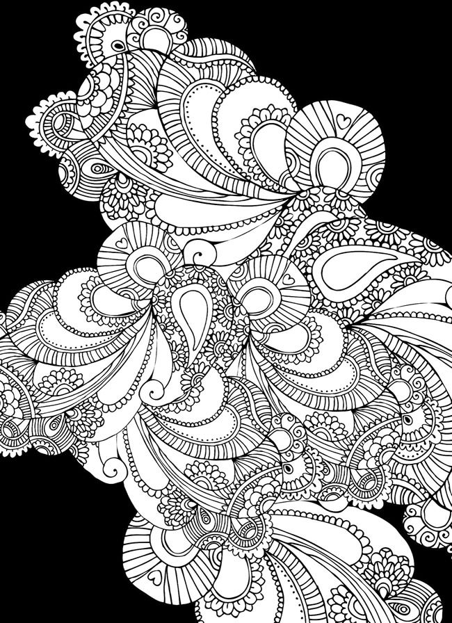 mehndi coloring pages henna tattoo mandala in mehndi style pattern for coloring mehndi pages coloring