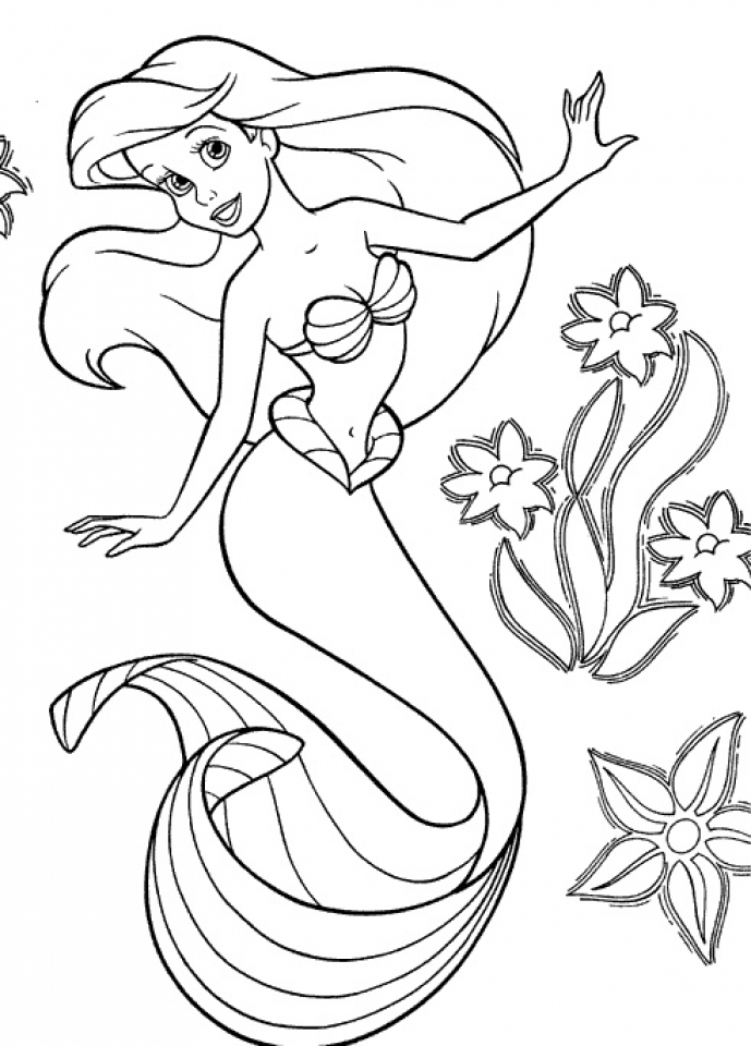 mermaid coloring book pages mermaid coloring pages realistic at getdrawings free pages mermaid coloring book