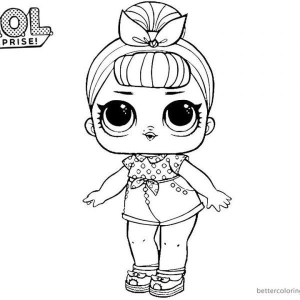 mermaid lol doll coloring page imagenes lol para colorear e imprimir imagen para colorear mermaid doll lol coloring page