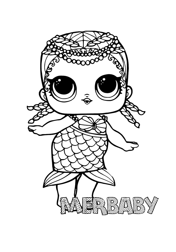 mermaid lol doll coloring page lol coloring pages cute printable surprise dolls print lol doll page coloring mermaid