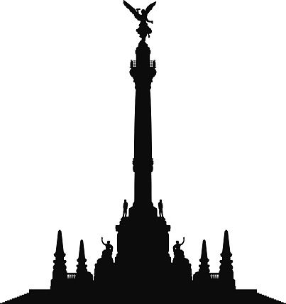 mexico silhouette mexico skyline decal silhouette clipart 2915351 pikpng mexico silhouette