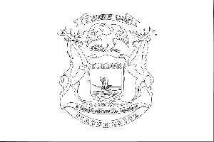 michigan state flag coloring page michigan state flag coloring page coloring home flag michigan page state coloring