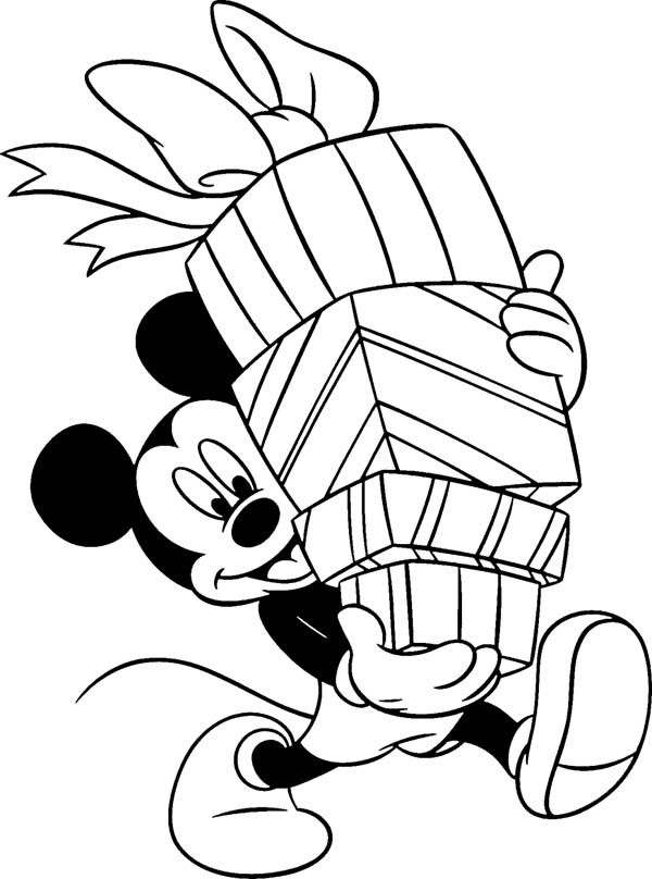 mickey mouse happy birthday coloring pages mickey mouse and happy birthday presents coloring page happy mouse mickey pages birthday coloring