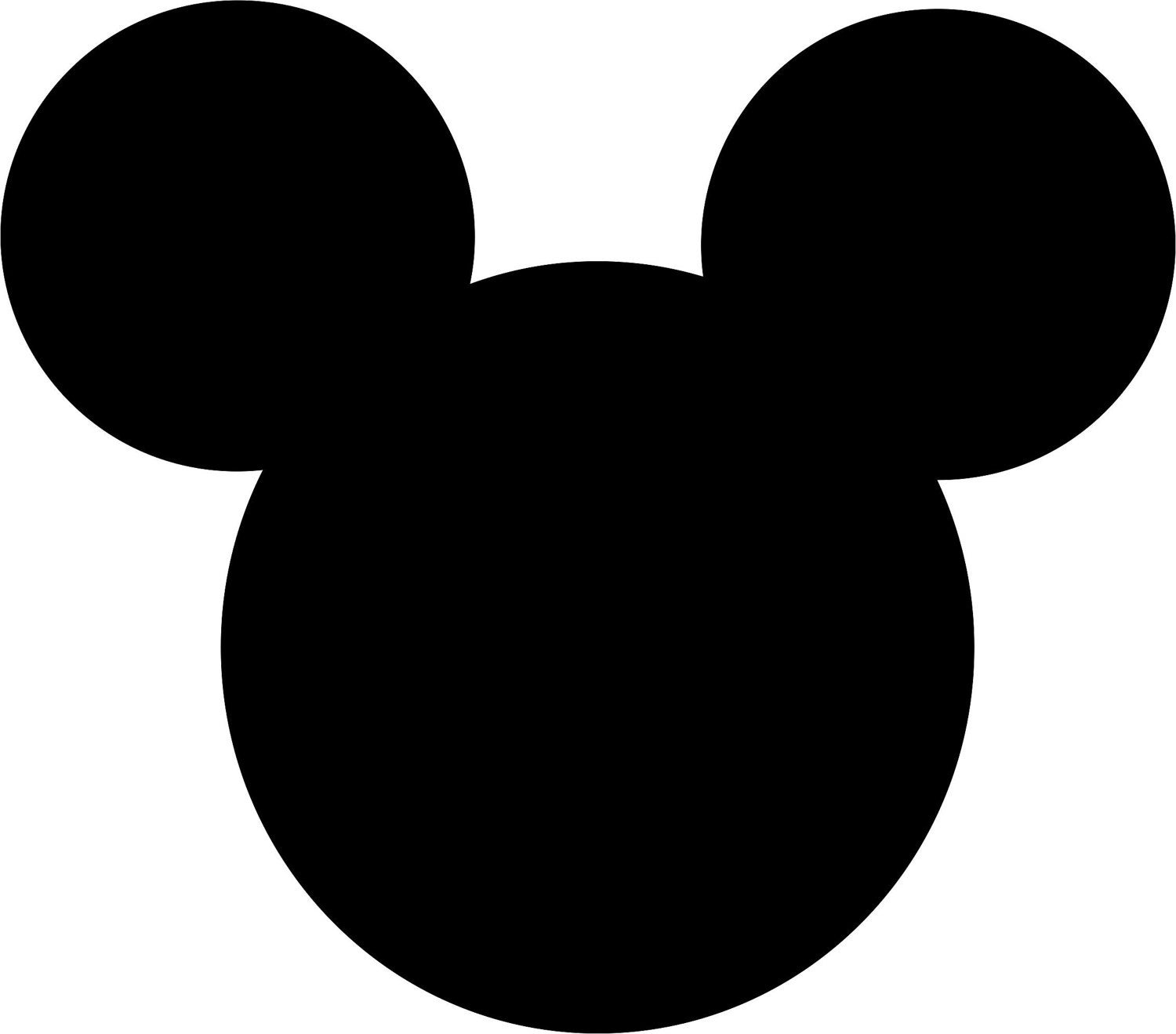mickey mouse head vector outline of mickey mouse free download on clipartmag mickey vector head mouse