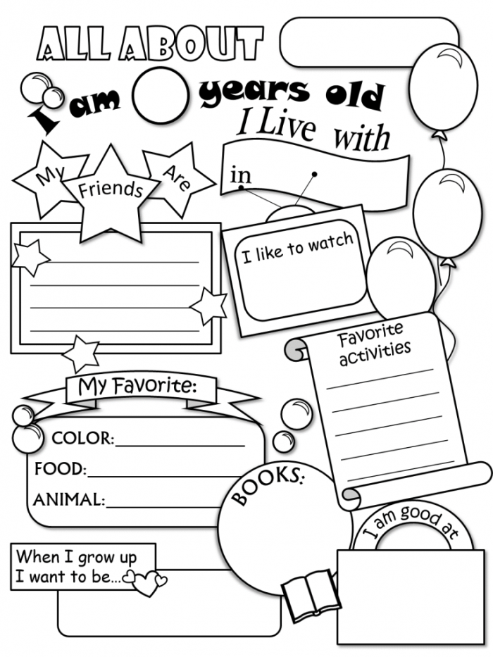 middle school coloring pages pdf all about me coloring pages picture all about me pages coloring school middle pdf